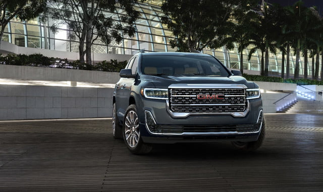 2020 GMC Acadia Refresh Brings Turbo-Four Engine, AT4 Model | Digital Trends