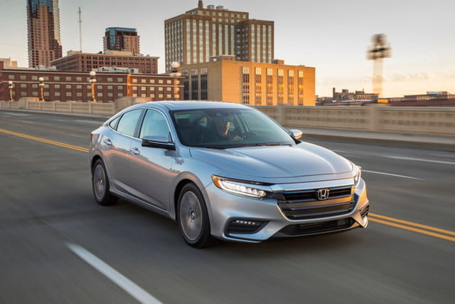 2020 Honda Insight hybrid returns for its sophomore year largely unchanged
