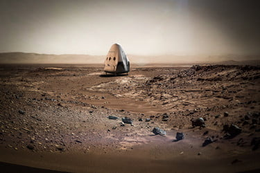 SpaceX's 2018 Mars mission has a few legal hurdles to clear