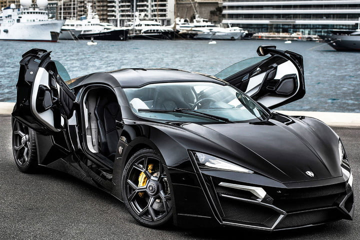 the top ten most expensive cars in world  million w motors lykan hypersport