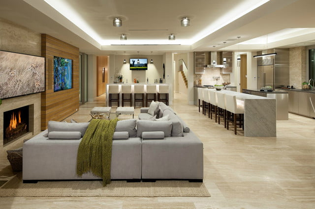 former apple exec selling his smart home for 35 million living room