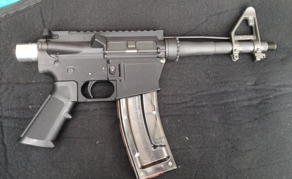 Functioning 3D-printed rifle you can make at home (Corrections