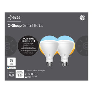 ge lighting google offer made for smart bulbs c sleep two pack by
