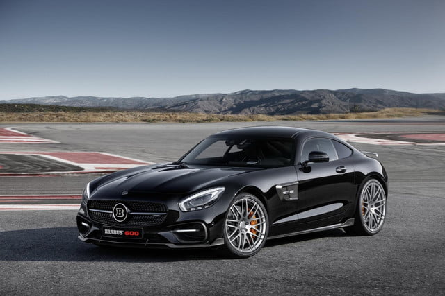 Brabus Boosts The Mercedes Benz Amg Gt S To 591 Horse