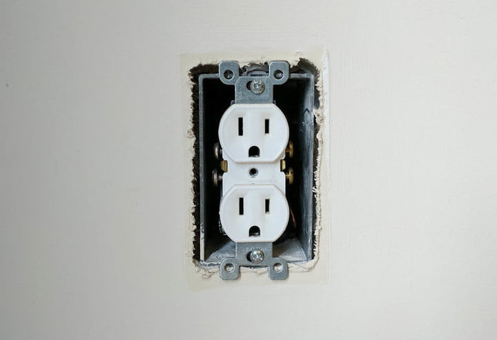 how to install a usb outlet 6 faceplate off
