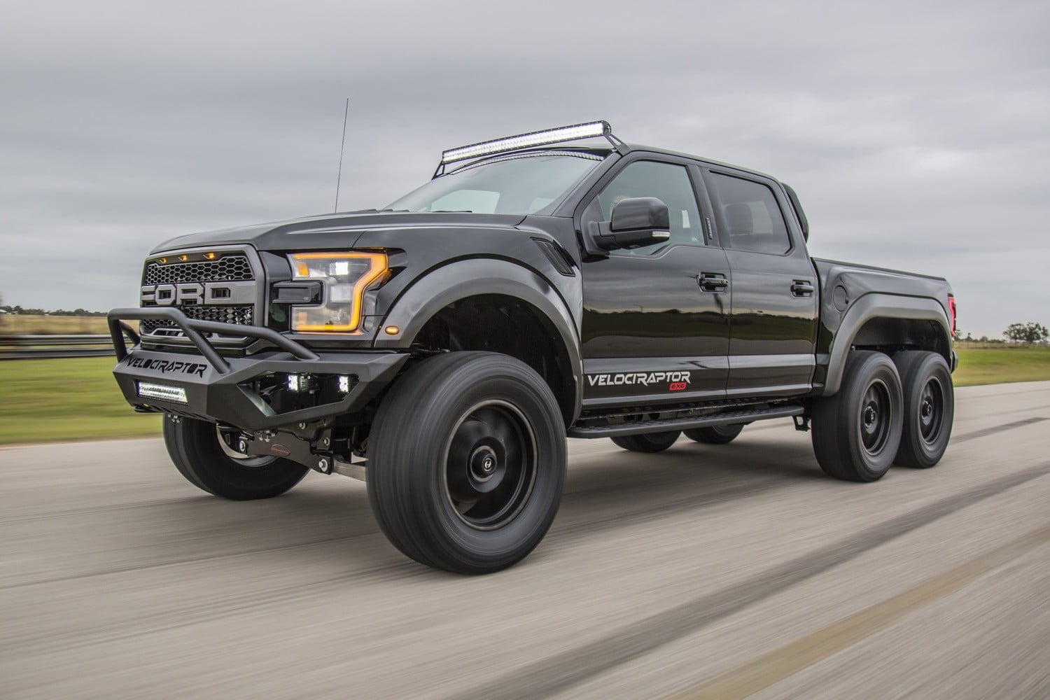 Hennessey ford raptor 6x6 pictures specs performance digital trends