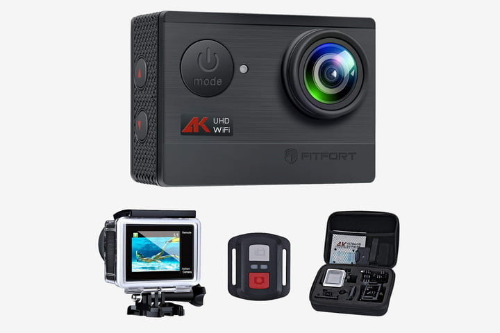 GoPro alternatives Fitfort 4K