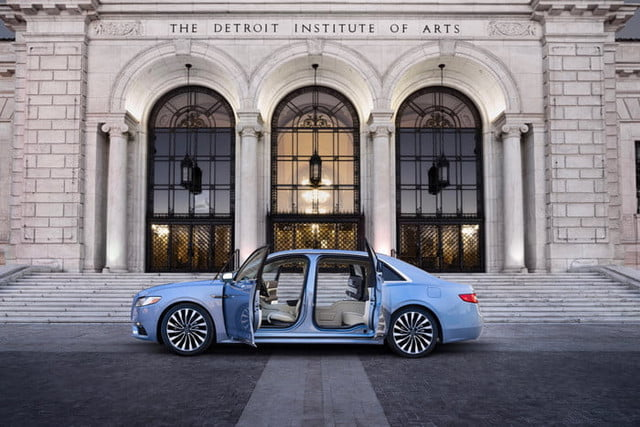 Special Edition Lincoln Continental Regains Suicide Doors For 80th