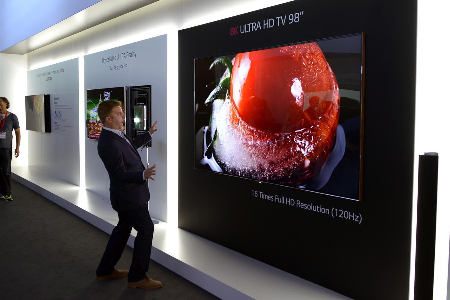 Lg New Super Uhd Tv Lineup Includes 98 Inch 8k Monster