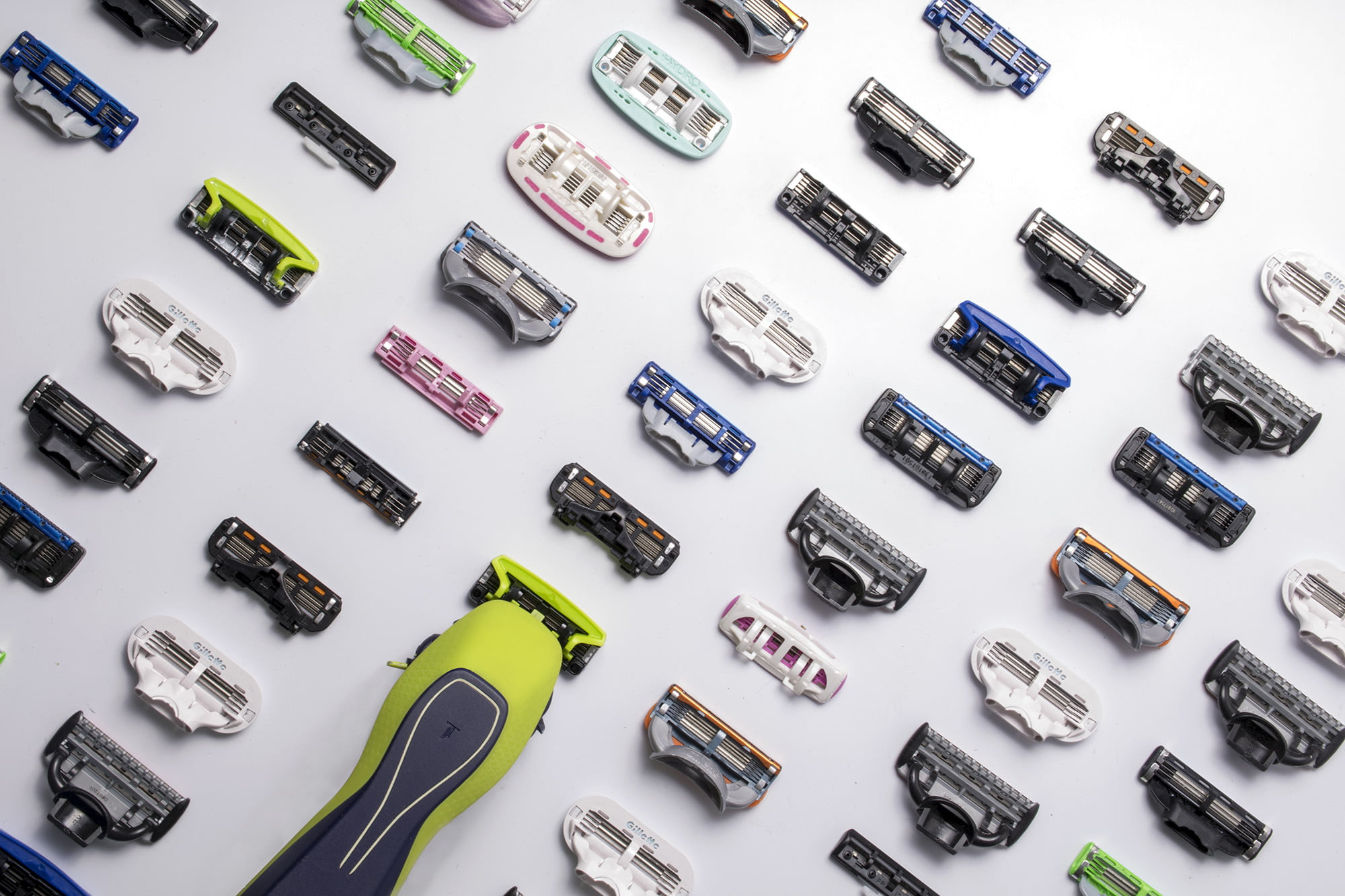 This all-in-one shaving system lets you use over 40 blades from different brands