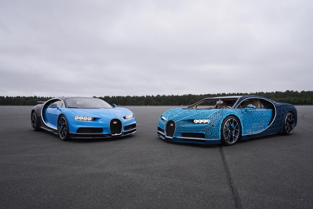 This Bugatti Chiron Is Made Out Of Over 1 Million Lego Pieces
