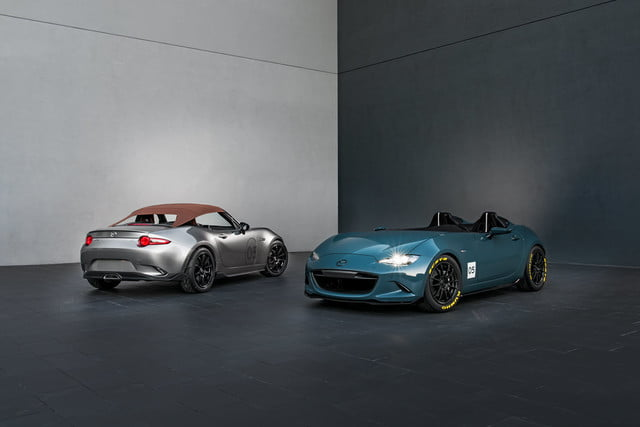 Mazda MX-5 Spyder and Speedster concepts