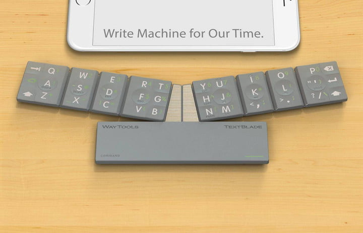 This tiny keyboard lets you touch-type on your phone