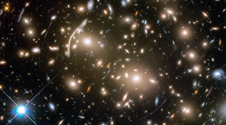 Virtual universe machine models galaxies to learn about dark matter