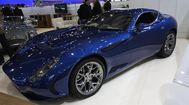 AC Is Back With The AC GT Zagato Digital Trends - Ac car show