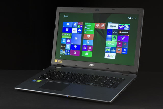 Acer Aspire E5 771G 51T2 front angle