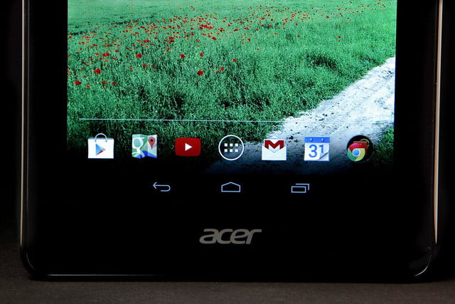 ACER Iconic ONE 7 bottom screen