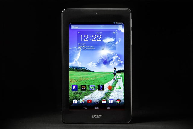 ACER Iconic ONE 7 home screen