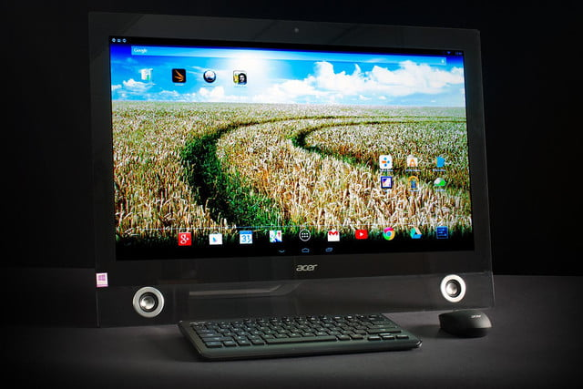 Acer TA272HUL review front angle