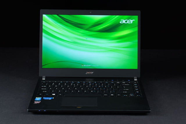 Acer TravelMate P6 front 2
