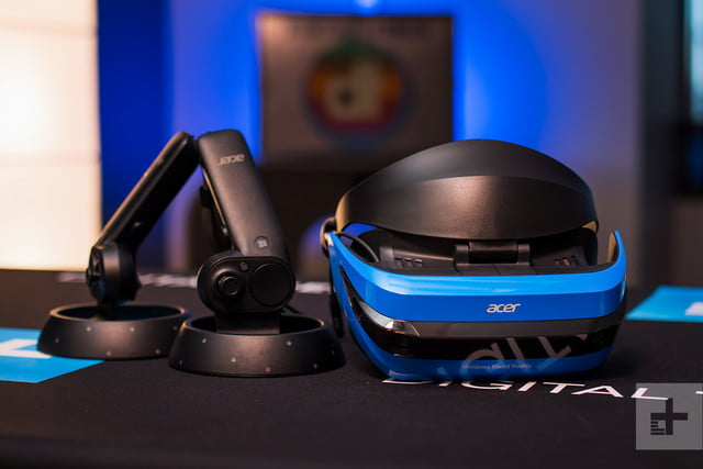 Acer Windows Mixed Reality Headset review controllers