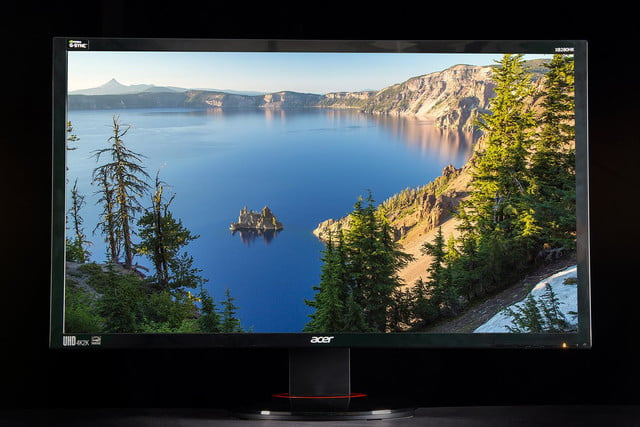 Acer XB280HK review 4K monitor front 5