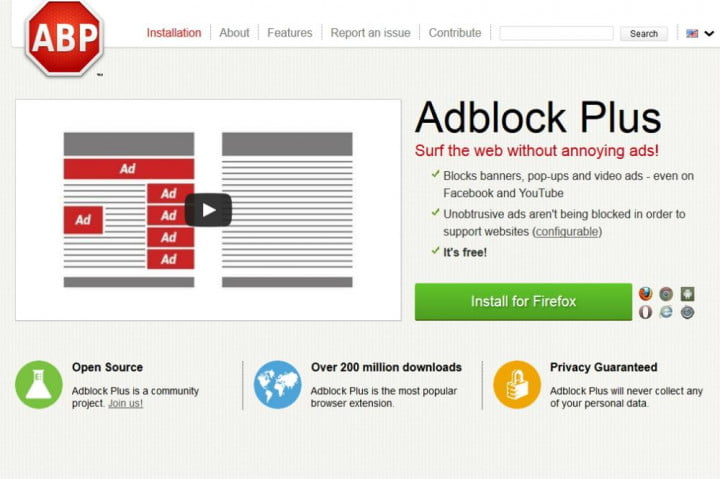 adblock plus free download for android