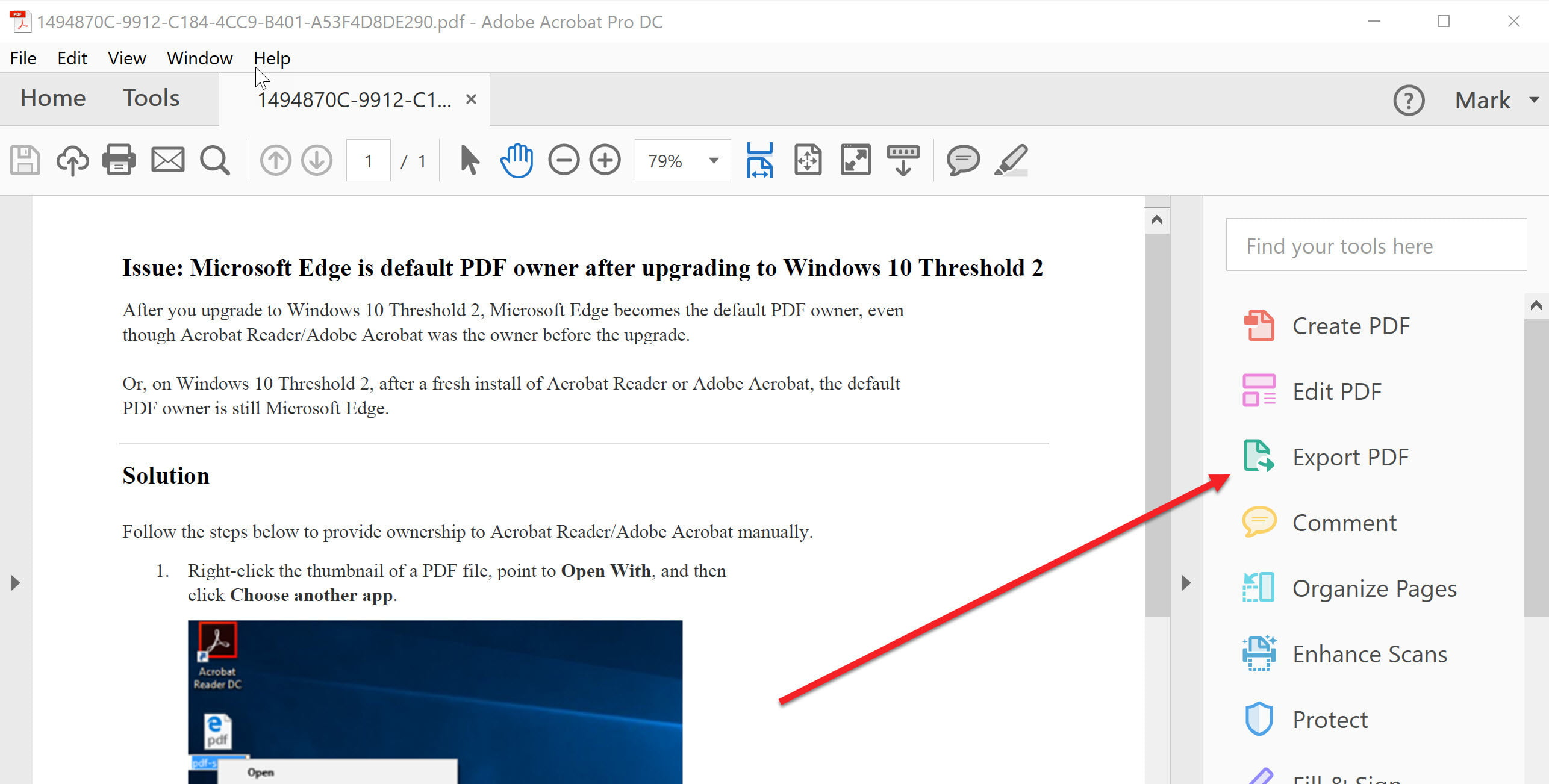 How to translate text in Word