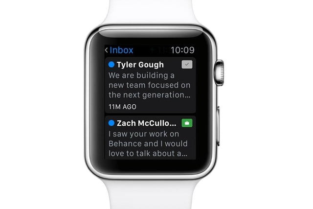 monitor and control your creative portfolio from apple watch with adobes apps adobe behance inbox