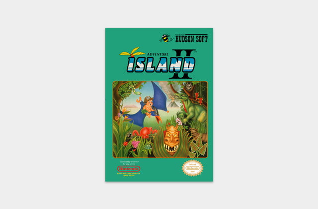 best nes games ever adventure island cover