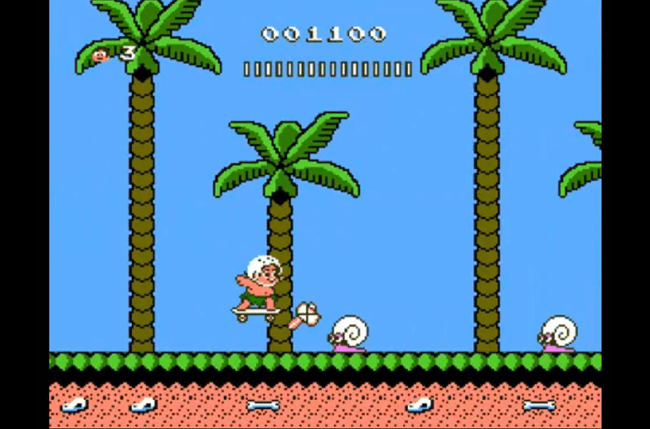 best nes games ever adventure island ii screen 3