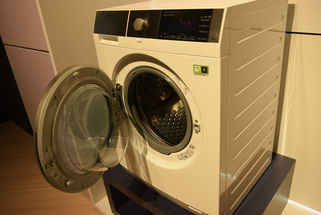 cool washers and dryers from ifa 2015 aeg washer dryer with woolmark