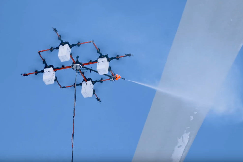 This super-sized drone has several tricks up its sleeve