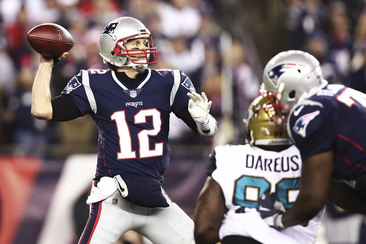 Tom Brady Eagles Patriots Super Bowl AI Betting