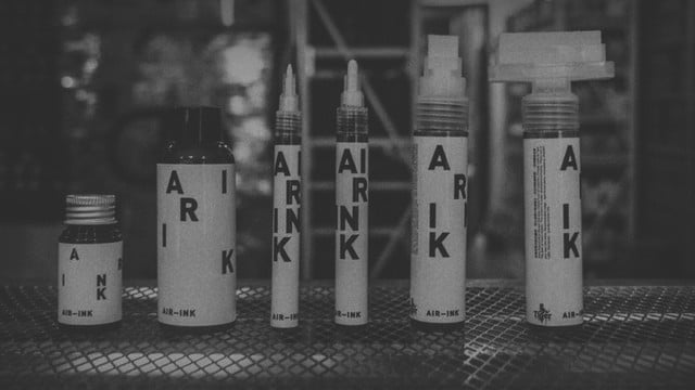 Air-Ink: The world's first ink made out of air pollution