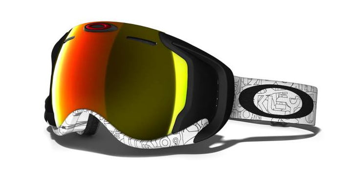 oakley ski lenses  High-tech Airwave ski goggles from Oakley bring augmented reality ...