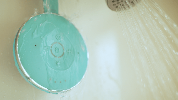Control your smart home from the shower with this splash-proof speaker
