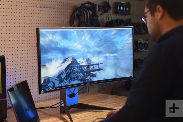 5d45e1ae284 Alienware AW3418DW Review: Immersive Gaming Pleasure | Digital Trends