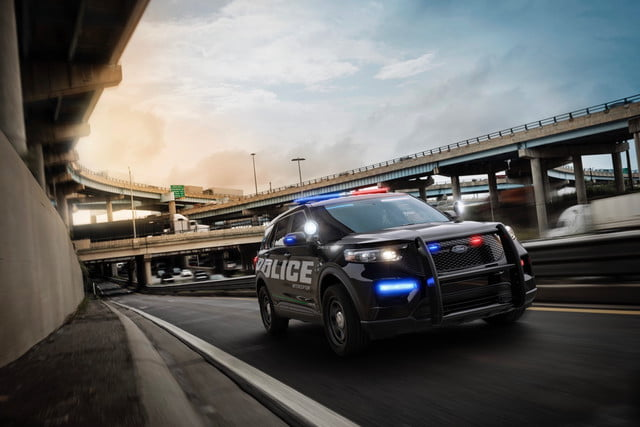 2020 Ford Police Interceptor Utility Debuts With Hybrid Option