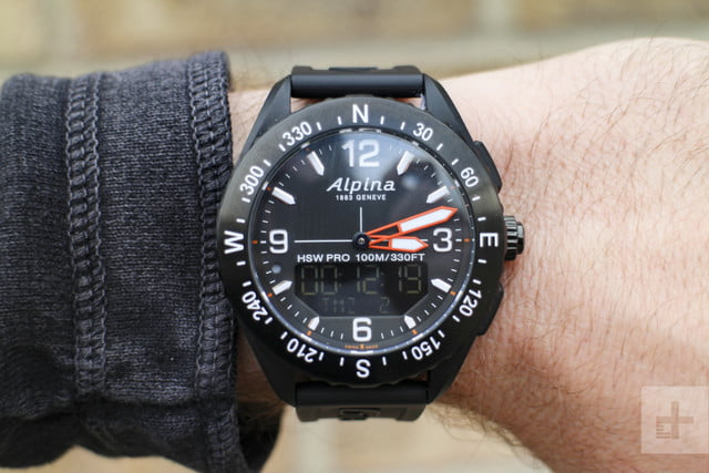 Alpina AlpinerX Handson Review Digital Trends - Alpina watch review