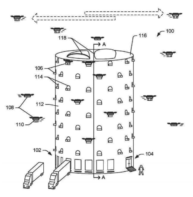 amazon prime air drone tower