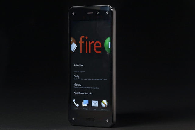 Amazon Fire phone front home