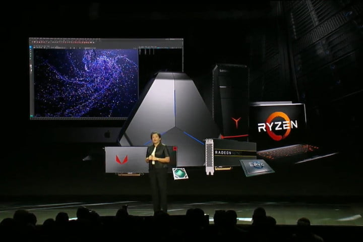 amd ceo lisa su ces 2019 ryzen family