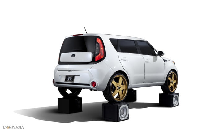 first hamsters now kia creates gaudy area music themed souls sema amped soul rear