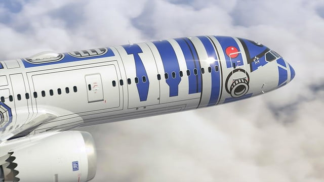 anas r2 d2 jet will be the closest to flying in a star wars spacecraft ana 5