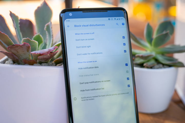 apple screen time and google digital wellbeing android p block visual disturbances
