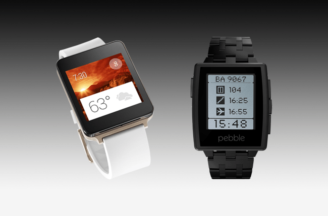 Android Wear vs. Pebble: The best watch today against the behemoth of tomorrow