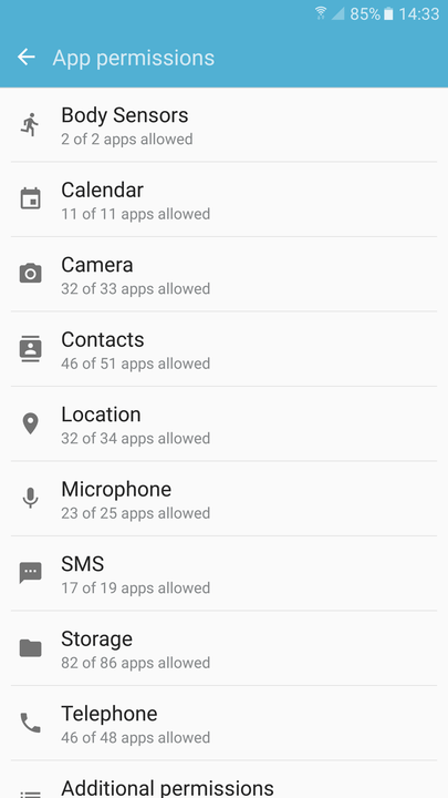 android apps background kill permissions 2