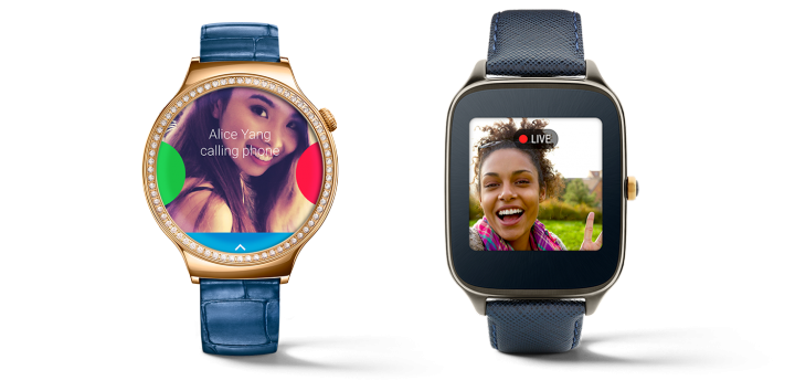 All The Gestures of Doll Android Wear