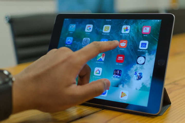 How to back up an iPad